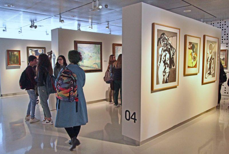 Visita al Museo Provincial de Bellas Artes