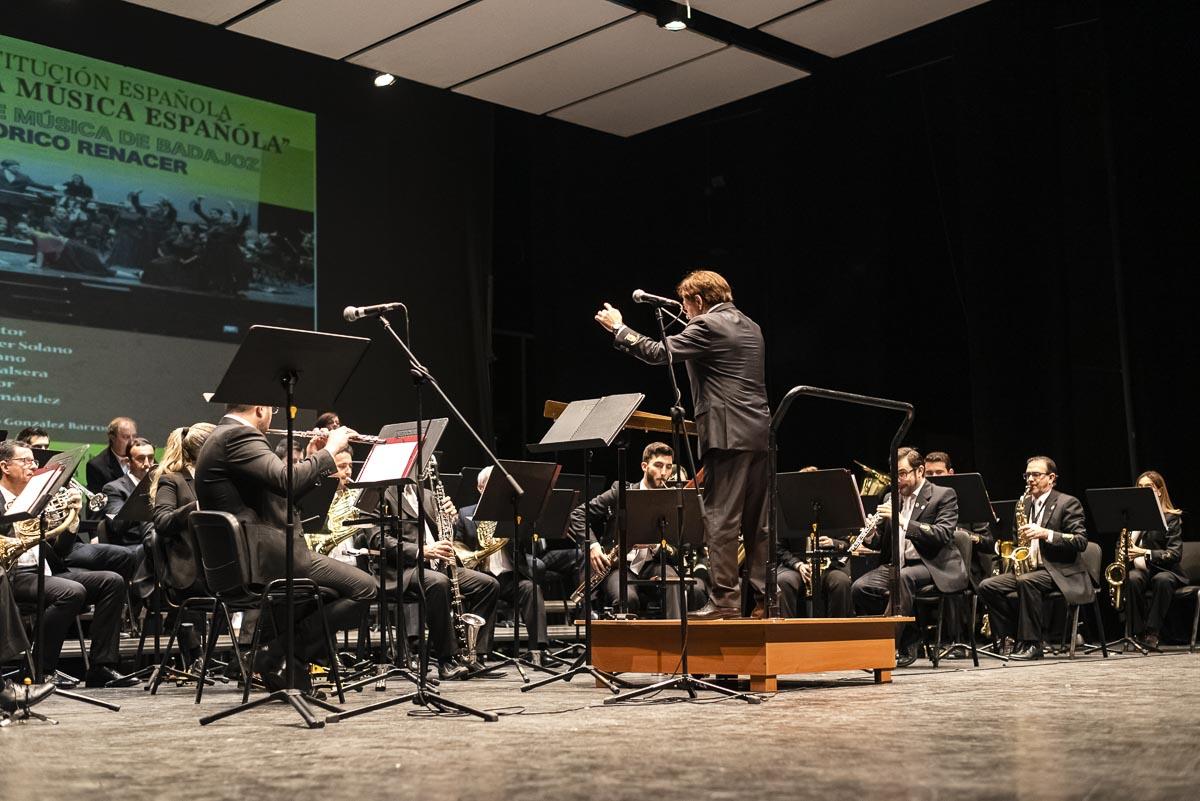 Conciertos de la Banda Municipal de Música de Badajoz: 'Concierto del Día de la Constitución'