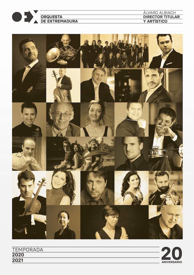 Conciertos de la Orquesta de Extremadura 2020-2021 - Jóvenes eternamente