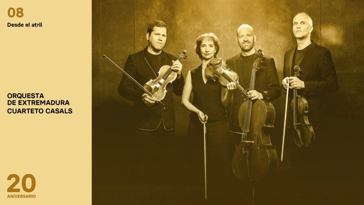 Conciertos de la Orquesta de Extremadura 2020-2021 - Desde el atril