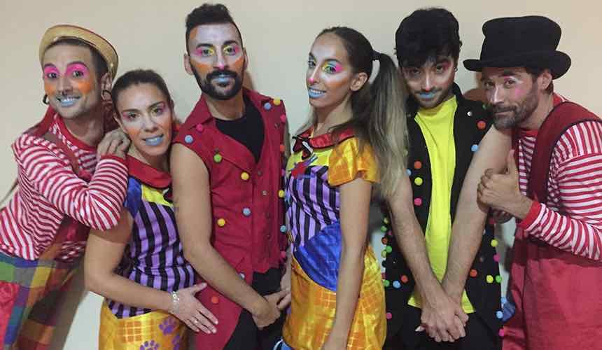NUEVA FECHA - Teatro en Familia - 'Los payasos bailarines'