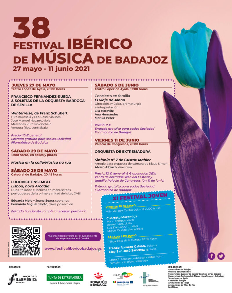 Winterreise | 38 Festival Ibérico de Música de Badajoz