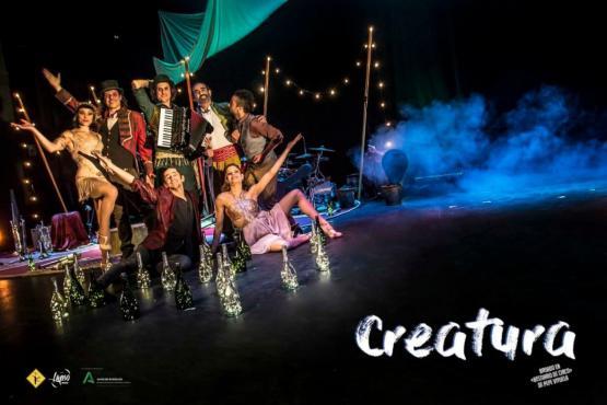 Creatura, circo en la calle
