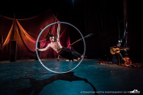 Orbita, circo en la calle