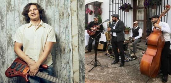 Rubén Rubio Swing Ton Ni Song & Aurora Samino. Música de Extremadura
