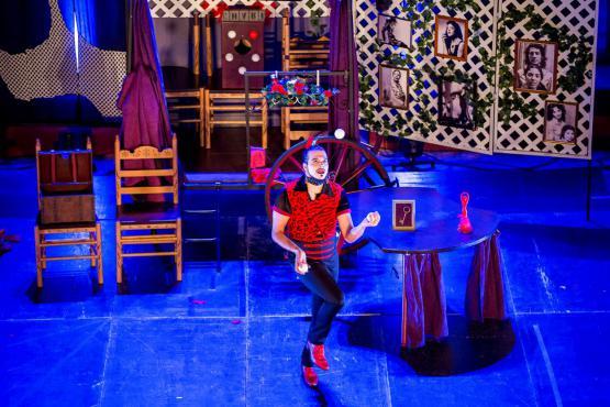 Sin Ojana, circo en la calle